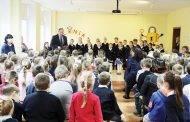 Senamiesčio mokykloje sulaukta svečių