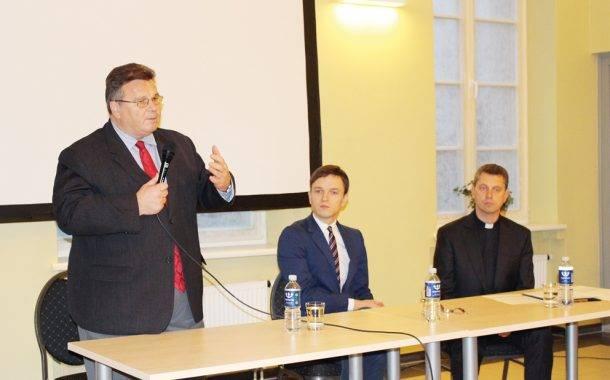 Rajone lankėsi užsienio reikalų ministras Linas Linkevičius
