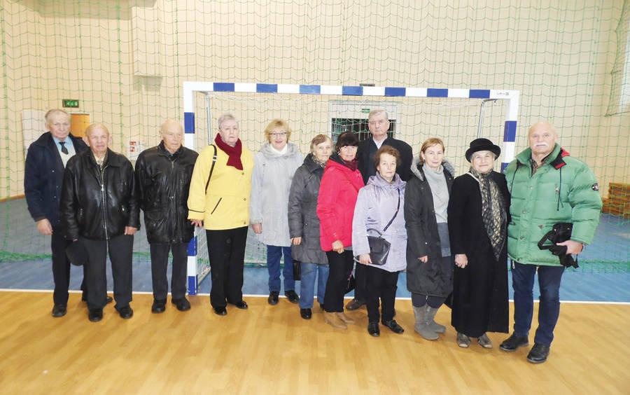Senjorų išvyka į Sporto centrą