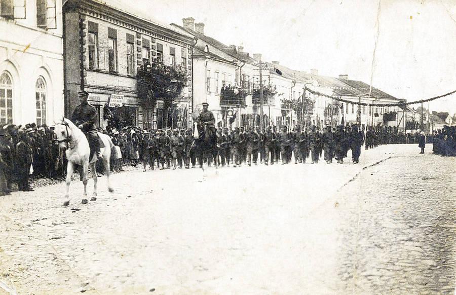 Ukmergės apskrities išvadavimas 1919 metais