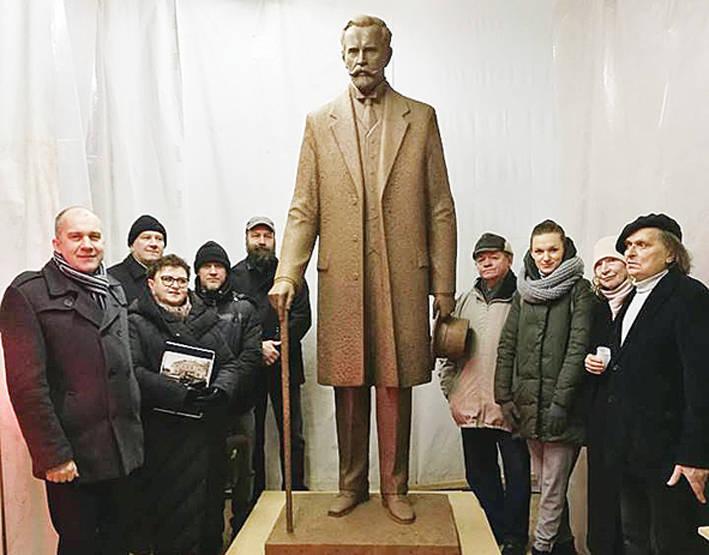 Prezidento skulptūra bus liejama Lietuvoje
