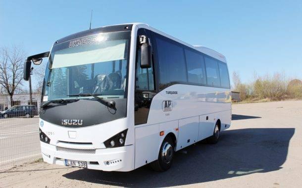 Įsigijo du naujus autobusus